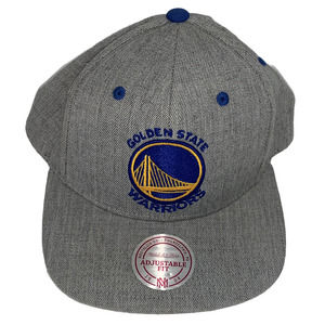 GOLDEN STATE WARRIORS Snapback Cap Hat Gray NBA